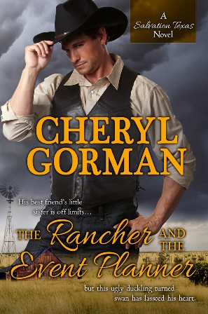 contemporary romance, cheryl gorman, The Rancher and the Event Planner