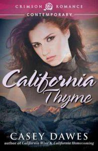 California Thyme, contemporary romance, casey dawes
