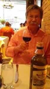 Ken at NYC Restaurant