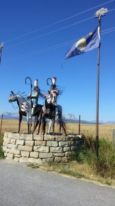 Entrance Blackfeet Reservation